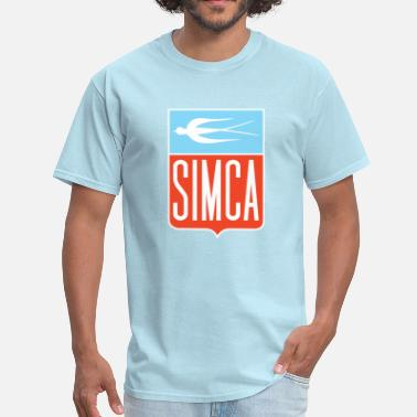 Simca Simca old bird emblem - Men's T-Shirt