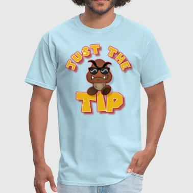 Goomba Just the TIP GOLD_n_RED - Men's T-Shirt