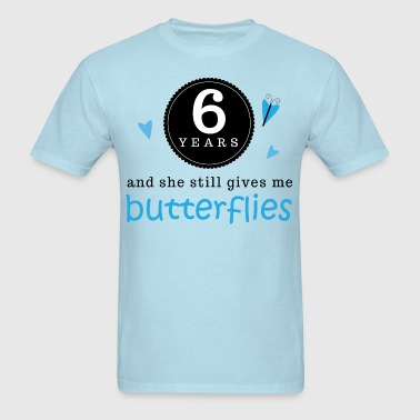 6th Anniversary For Him - Men's T-Shirt