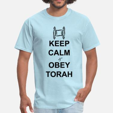 Yeshua keep calm obey torah - Men's T-Shirt