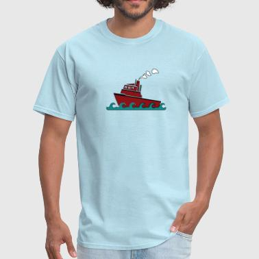 Tug boat - Men's T-Shirt