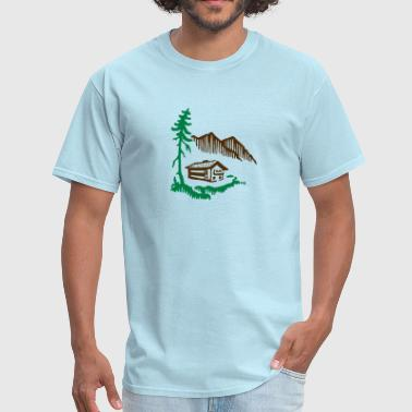 Alps Alps Landscape - Men's T-Shirt