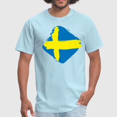 Flag of Sweden - Men's T-Shirt