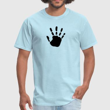 handprint_1c - Men's T-Shirt