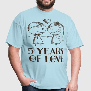 5th Anniversary 5 Years - Men's T-Shirt
