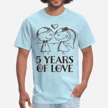 5th Anniversary 5th Anniversary 5 Years - Men's T-Shirt