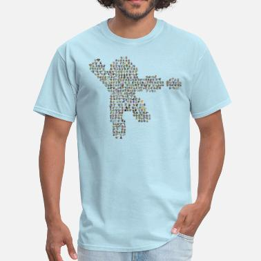 Mega Man Mega 8-Bit Man - Men's T-Shirt