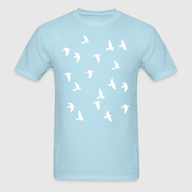 Bird Flock - Men's T-Shirt