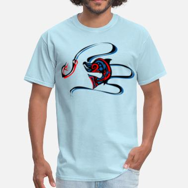 Sockeye Sockeye Leap.png - Men's T-Shirt