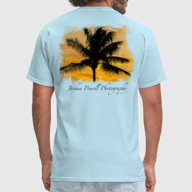 Palm Sunset - Men's T-Shirt