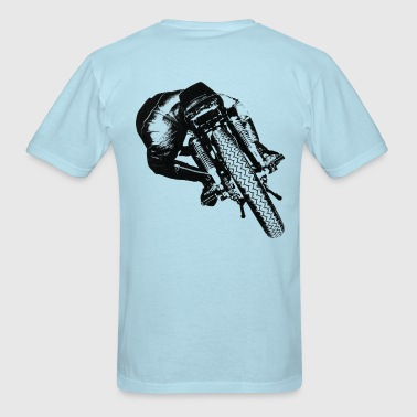 Cafe Racer rear view for light material - Men's T-Shirt