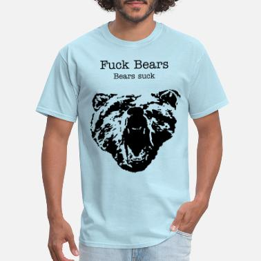 Angry Bear Angry Bear ( Vector Graphic ) - Men's T-Shirt