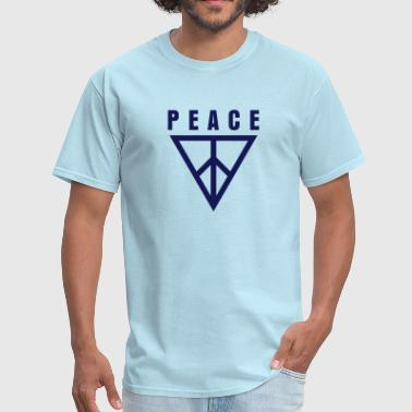Triangle of Peace 1 - Men's T-Shirt