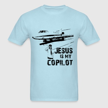 jesus is my copilot - Men's T-Shirt