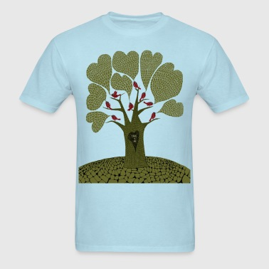 loving tree - Men's T-Shirt