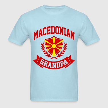 Macedonian Grandpa - Men's T-Shirt