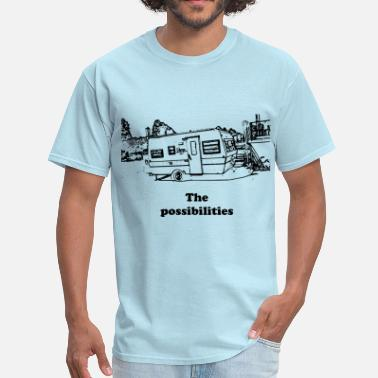 Trailer Trash trailer - Men's T-Shirt