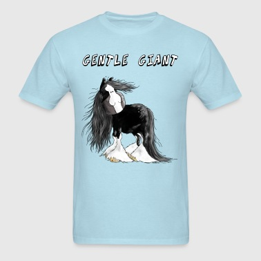 Gentle Giant Shire Horse - Gift - Horses - Men's T-Shirt