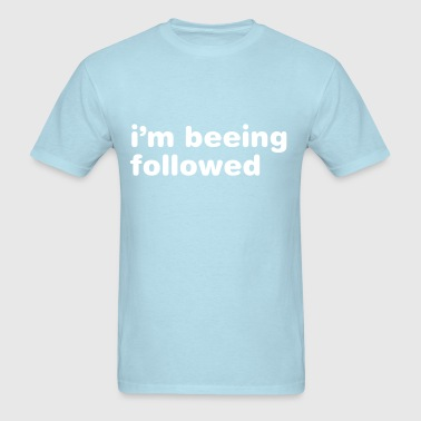 Plot-print I'm beeing followed - Men's T-Shirt