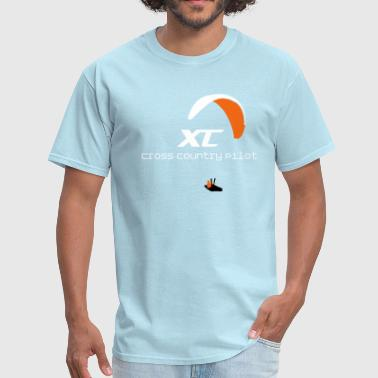 Paragliding Paraglider Cross Country - Men's T-Shirt