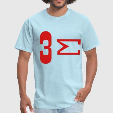 Menage A Trois Three Sum  - Men's T-Shirt