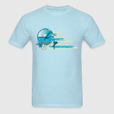 Vintage Surf Scene - Men's T-Shirt