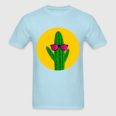 Sunbathing cactus - Men's T-Shirt