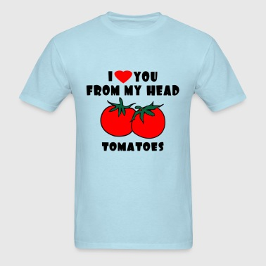 From My Head Tomatoes - Men's T-Shirt