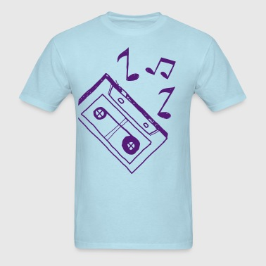 Music Tape - Men's T-Shirt
