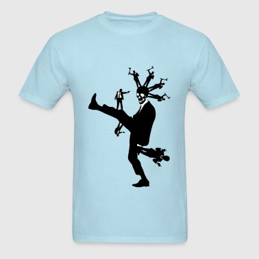 Violence In Suits - Men's T-Shirt