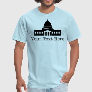 The Capitol - VECTOR - Men's T-Shirt