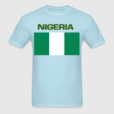 Nigerian Flag - Men's T-Shirt