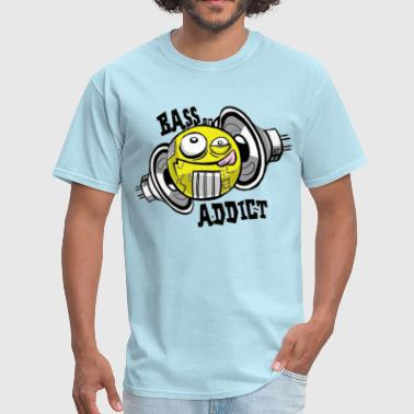 BASS ADDICT - Men's T-Shirt