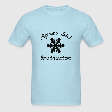 Apres Ski Instructor - Men's T-Shirt