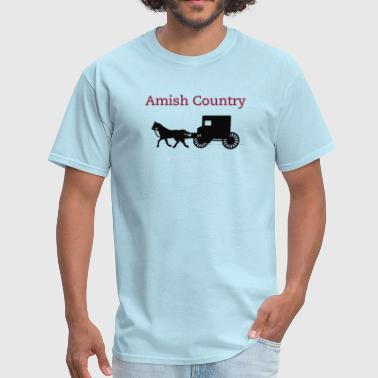 Amish Horse and Buggy - Men's T-Shirt