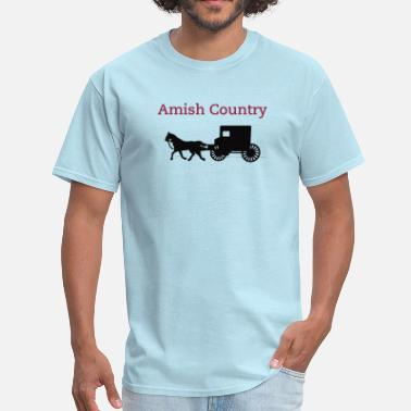 Amish Horse Buggy Amish Horse and Buggy - Men's T-Shirt