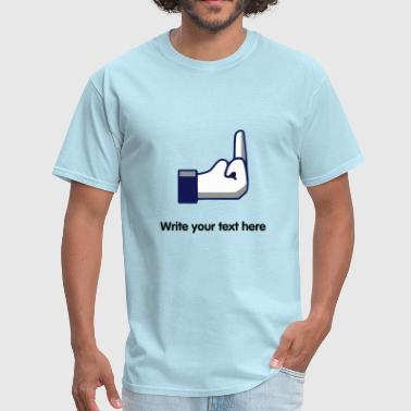 FB Fuck - internet meme - Men's T-Shirt