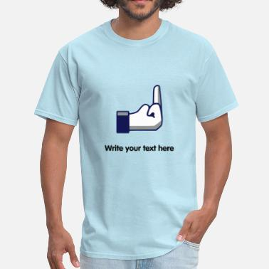 Offensive Meme FB Fuck - internet meme - Men's T-Shirt