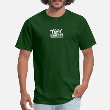 Career PLAY HARD HUSTLE HARDER ROYALTY FIRST APPAREL SOC - Men's T-Shirt