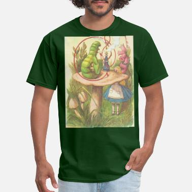 Alice The Hookah Smoking Caterpillar - Men's T-Shirt