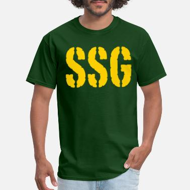 Sergeant Staff Sergeant SSG rank - Men's T-Shirt