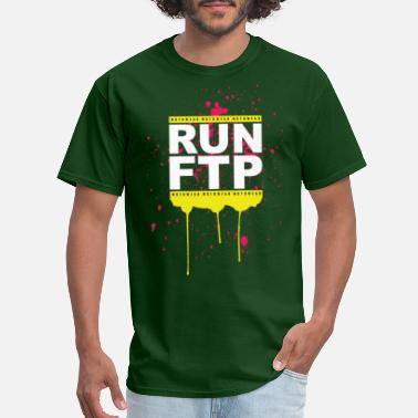 Ftp RUN FTP - Men's T-Shirt