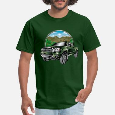 Tough Guy Forest Drive Tacoma Truck - Men's T-Shirt
