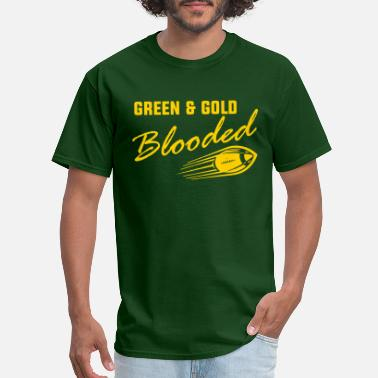 Green And Gold Green & Gold Blooded - Men's T-Shirt