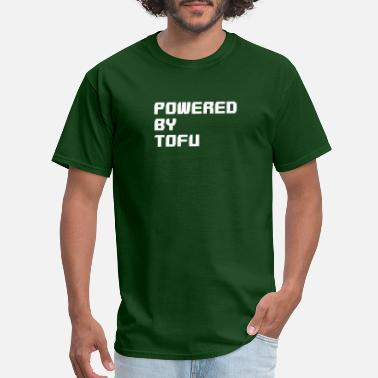 Tofu Powered by Tofu - Men's T-Shirt