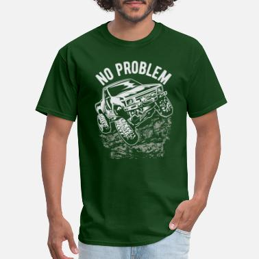 4x4 No Problem Tacoma Truck - Men's T-Shirt