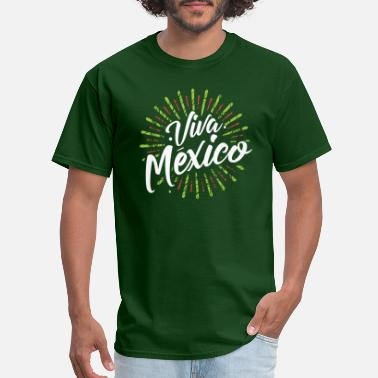Mexico Colors Colorful, beautiful Mexico - Men's T-Shirt
