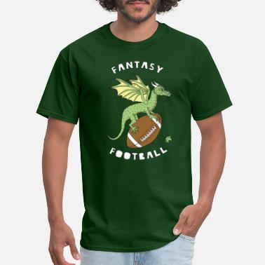 Sports Fantasy Football Dragon - Men's T-Shirt