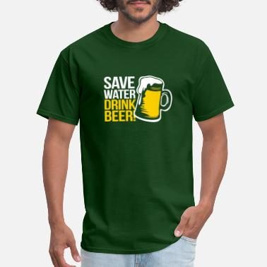 323fa8a7c St Patricks Day Save Water Drink Beer - Men's T-Shirt