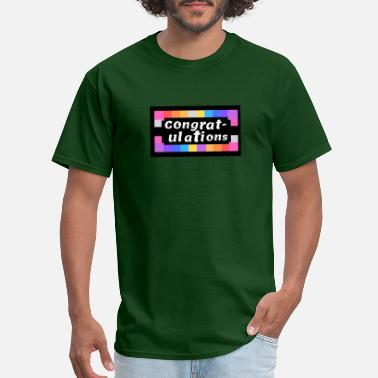 Congratulations To Success Congratulations - Men's T-Shirt